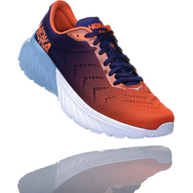 Hoka One One Mach 2 Running Shoes Men Patriot Blue/Nasturtium